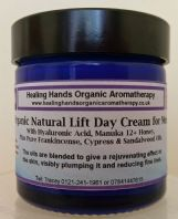 Organic Gent's Natural Lift +Hyaluronic Acid +Manuka -SPF15 Day Cream 60ml